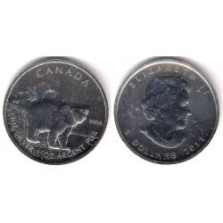 Canada. 2011. 5 Dollars (SC) (Plata)