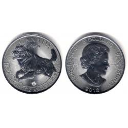 Canada. 2018. 5 Dollars (SC) (Plata)