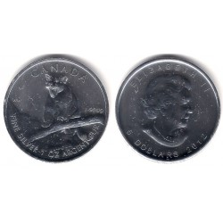 Canada. 2012. 5 Dollars (SC) (Plata)