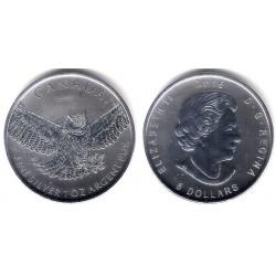 Canada. 2015. 5 Dollars (SC) (Plata)