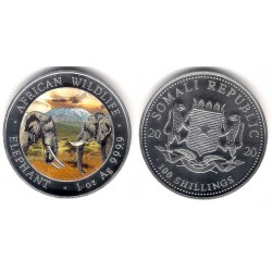 Somalia. 2020. 100 Shillings (Proof) (Plata) Coloreada