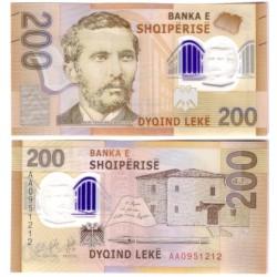 Albania. 2017. 200 Leke (SC)