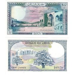 (66d) Líbano. 1988. 100 Livres (SC)