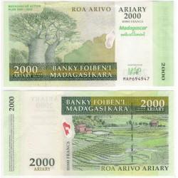 (93) Madagascar. 2007. 2000 Ariary (SC)