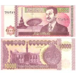 (89) Iraq. 2002. 10000 Dinars (SC)