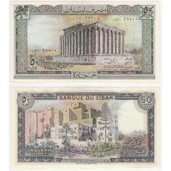 (65c) Líbano. 1985. 50 Livres (SC)