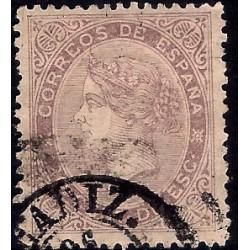 (92) 1867. 20 Céntimos de Esc. Isabel II (Usado)