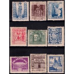 (961 a 969) 1943-44. Serie Completa. Año Santo Compostelano (Nuevo / Usado)
