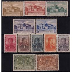 (547 a 558) 1930. Serie Completa. Descubrimiento de América (Nuevo, con marca de fijasellos)