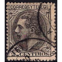 (200) 1879. 2 Céntimos. Alfonso XII (Usado)