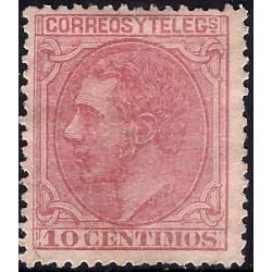 (202) 1879. 10 Céntimos. Alfonso XII (Usado)