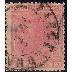 (207) 1879. 1 Peseta. Alfonso XII (Usado)