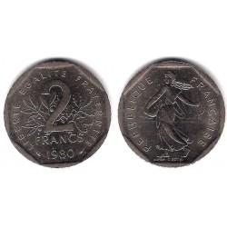 (942.1) Francia. 1980. 2 Francs (EBC)
