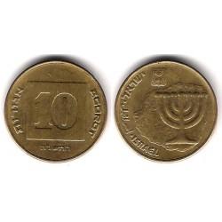 (158) Israel. 1995. 10 Agorot (MBC)