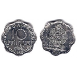(140a) Sri Lanka. 1988. 10 Cents (SC)