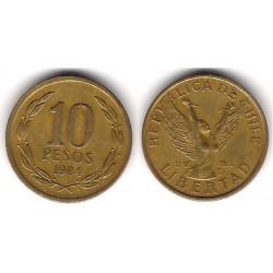 (218.1) Chile. 1984. 10 Pesos (MBC)