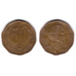 (219.2) Chile. 1997. 50 Pesos (MBC)