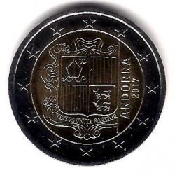 Andorra. 2017. 2 Euro (SC)