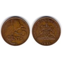 (30) Trinidad y Tobago. 1981. 5 Cents (MBC)