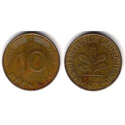 (108) Alemania. 1972(G). 10 Pfennig (MBC-)