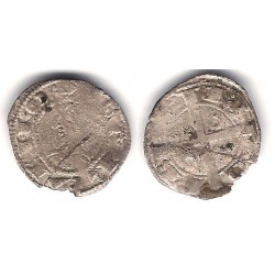 Jaime I. 1276-1285. Dinero (RC) Ceca de Barcelona