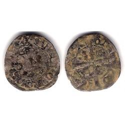Jaime II. 1327-35. Dinero (RC) Ceca de Barcelona