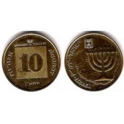 (173) Israel. 1990. 10 Agorot (SC)