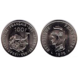 (19) Affars y Issas. 1975. 100 Francs (SC)