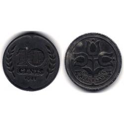 (173) Países Bajos. 1941. 10 Cents (SC)