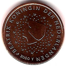 Países Bajos. 2000. 1 Céntimo (SC)