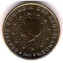 Países Bajos. 2001. 10 Céntimos (SC)