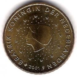 Países Bajos. 2001. 50 Céntimos (SC)
