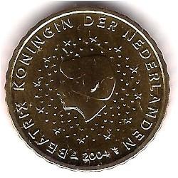 Países Bajos. 2004. 10 Céntimos (SC)
