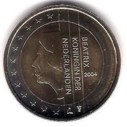 Países Bajos. 2004. 2 Euro (SC)