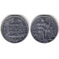 Polinesia Francesa. 2008. 1 Franc (MBC+)