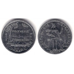 (11) Polinesia Francesa. 2000. 1 Franc (MBC+)