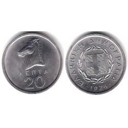 (114) Grecia. 1976. 20 Lepta (SC)