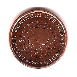 Países Bajos. 2005. 1 Céntimo (SC)