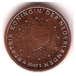 Países Bajos. 2007. 2 Céntimos (SC)