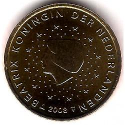 Países Bajos. 2008. 50 Céntimos (SC)