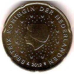 Países Bajos. 2012. 50 Céntimos (SC)