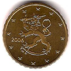 Finlandia. 2006. 10 Céntimos (SC)