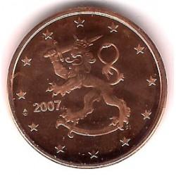 Finlandia. 2007. 5 Céntimos (SC)