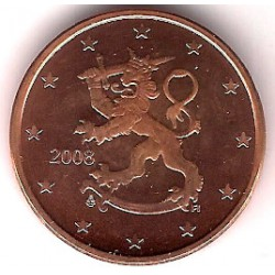 Finlandia. 2008. 5 Céntimos (SC)