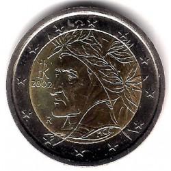 Italia. 2002. 2 Euro (SC)