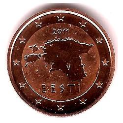 Estonia. 2011. 2 Céntimos (SC)