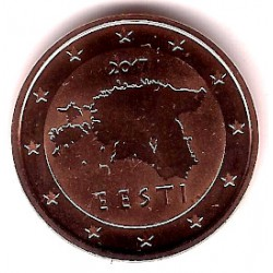 Estonia. 2017. 5 Céntimos (SC)