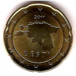 Estonia. 2011. 20 Céntimos (SC)