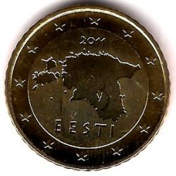 Estonia. 2011. 50 Céntimos (SC)