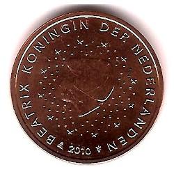 Países Bajos. 2010. 2 Céntimos (SC)